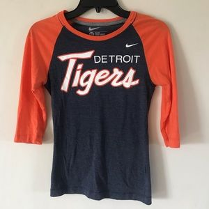 Detroit Tigers Nike 3/4 sleeve - super soft